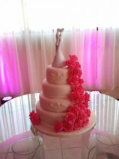 Fushia Rose Wedding