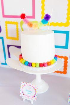 Rainbow Cake - Art C