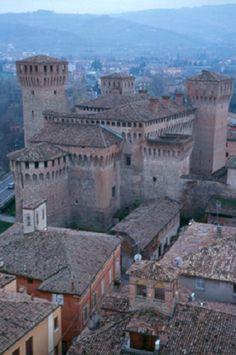 veduta sul castello di Vignola -Modena, province of Modena, Emilia Romagna region Italy