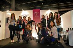 BLOGGER'S WEDDINGS en el stand de ASPOLVIT Anti-Aging.Pasarela Barcelona Bridal Week 2013.