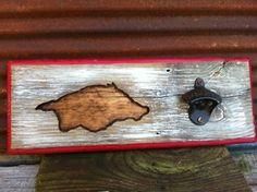 Arkansas Razorback Bottle Opener by TreyColeCreations on Etsy, $24.00