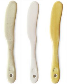 landscape-products ceramic butter knives