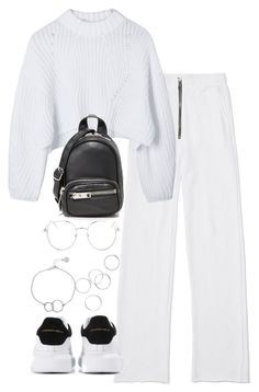 """""""Untitled #4796"""" by theeuropeancloset on Polyvore featuring Alexander McQueen, Alexander Wang, Topshop and Chupi"""