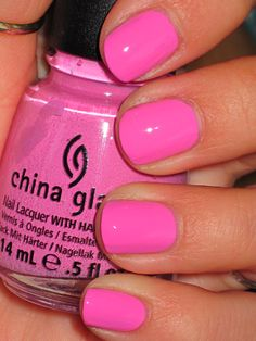 China Glaze- Dance Baby- I want this color