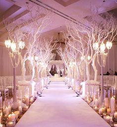 arboles secos de decoracion de eventos
