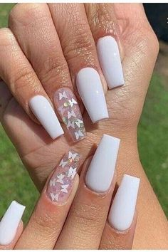 Best chosen nail art designs for women 2020 00002 Purple Acrylic Nails, Acrylic Nails Coffin Short, Square Acrylic Nails, Summer Acrylic Nails, Best Acrylic Nails, Burgundy Nails, Short Gel Nails, Coffin Nails, Summer Nails