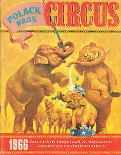 Polack Bros. Circus 1966 #1