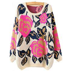 Rosenpullover pink http://www.pinjafashion.de/