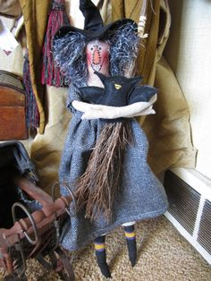 Joesaphine the OOAK Witch by TwistedBones on Etsy, $15.00
