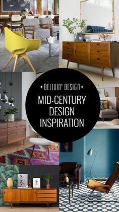 Mid century inspiration