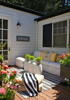 Ideal Cottage Outdoor Seating Area