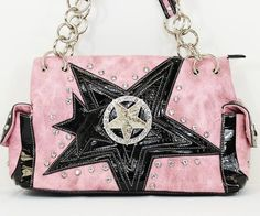 Shine like a star with this handbag! Available in 3 colors, get yours now for only $40! #handbag #fashion #sale #star