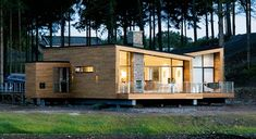 5 Inexpensive Modern Prefab Houses You Can Buy Right Now – My Life Spot Nordic Home, Scandinavian Home, Cabana, Small Modern House Plans, Wooden House Design, Weekend House, Prefab Homes, My Dream Home, Future House
