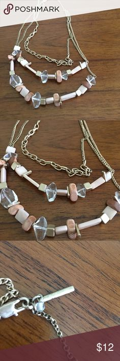 Kenneth Cole Necklace Kenneth Cole Triple Strand Necklace Kenneth Cole Jewelry Necklaces
