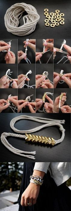 Homemade jewellery