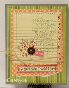 Seabrook Designs: Thankful For