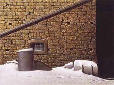 Au Sous-Sol, les mystères - Interprétation/Signification de rêves - tableau ©Heiner Altmeppen - 1951-... Art, Walkout Basement, Dream Interpretation, Board, House