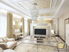 Thanks to #antonovichdesign for the pic! Great project with #vismaradesign revolving tv stand in Moscow.#mosaic #luxury