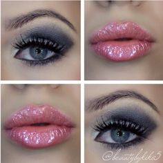 Lips and lashes