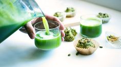 Recipe: Green Juice and Pulp Muffins