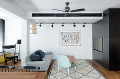A Functional Family Apartment,© Gidon Levin
