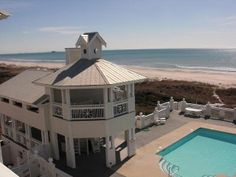 Ocean Front Sea Dreams Large Cottage with Community PoolVacation Rental in Atlantic Beach from @HomeAway! #vacation #rental #travel #homeaway