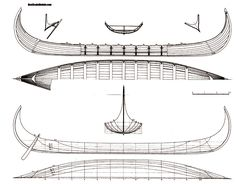 Viking ship model plans Viking ship model plans and drawings ...