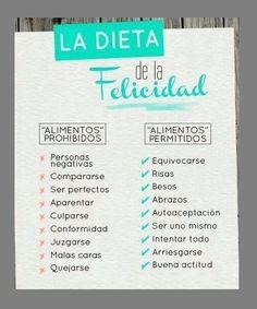 Dieta felicidad