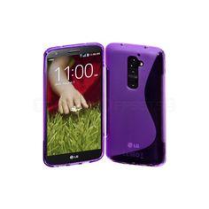 S-case till LG D802 G2, Lila - Skal - Teknikproffset