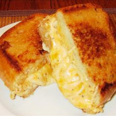 Ultimate Grilled Cheese Sandwich -   From the looks of the recipe, this probably won't disappoint :)