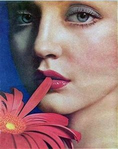 Ingrid Boulting for Biba by Sarah Moon. Date Uncredited.