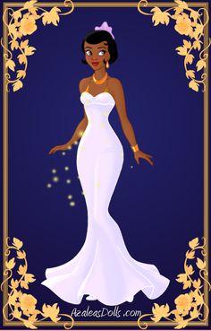 Tiana { White Dress } by kawaiibrit.deviantart.com on @deviantART