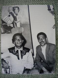 FOTOGRAFIA DE SALVADOR DALI, REALIZADA POR SEGUÍ, PORT LLIGAT 18-8-1960.