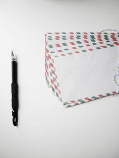 Italian Air Mail Vintage Envelopes