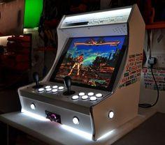 Arcade Games, Arcade Game Room, Diy Arcade Cabinet, Arcade Console, Gamer Room, Pc Gamer, Arcade Bartop, Consoles, Game Booth