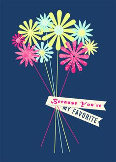 Free Printables: Mother's Day Prints or Postcards | In Honor Of Design
