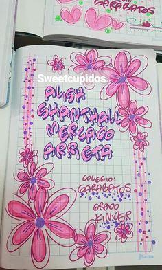 Page Borders Design, Border Design, Filofax, Pretty Letters, Page Decoration, Zen Design, School Notebooks, Book Letters, Decorate Notebook
