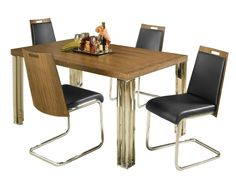 Hillsdale Furniture 5432DTBC Trivoli 5pc Dining Set