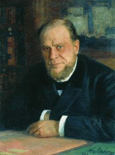 Portrait of lawyer Anatoly Fyodorovich Koni Painting Ilya Repin, Russian Painting, Russian Art, Painting People, Figure Painting, Claudio Bravo, Best Portraits, Human Art, Traditional Paintings