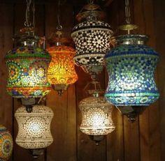 OOSTERSE LAMPEN EN MAROKKAANSE LANTAARNS
