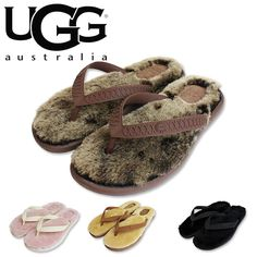 UGG australia thong sandals アグ オーストラリア ムートン ビーチサンダル
