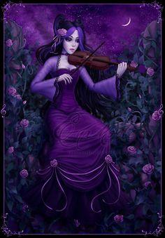Night's Song by Enamorte.deviantart.com on @deviantART