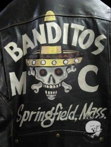 1950's Banditos Outlaw Motorcycle Club Jacket  I'm from Springfield myself .