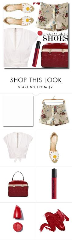 """""""New style"""" by soks ❤ liked on Polyvore featuring Charlotte Olympia, NYX, vintage and polyvoreeditorial"""