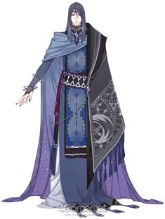 Dragon priest or maybe a diplomat or politician. Manga Art, Manga Anime, Anime Art, Character Concept, Character Art, Concept Art, Fantasy Characters, Anime Characters, Kleidung Design