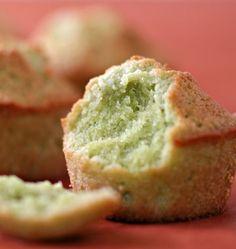 Financiers au thé vert matcha - Recette verte pour la St Patrick