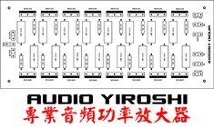 Amplificador Yiroshi TR3500 Con Super Driver 1500W Hifi Amplifier, Class D Amplifier, Power Supply Circuit, Circuit Diagram, Pdf, Yamaha, Samurai, Circuits, Audio Amplifier