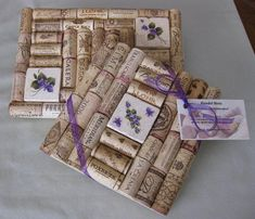 Items similar to Wine Cork Trivet Set with Violet Flower Tile Insert on Etsy Wine Craft, Wine Cork Crafts, Wine Bottle Crafts, Wine Cork Trivet, Wine Cork Art, Diy Cork, Wine Cork Wreath, Cork Ornaments, Snowman Ornaments