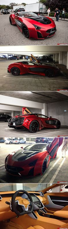 Laraki Epitome Concept made the list of the 'Top 10 Weirdest Cars Of 2014'