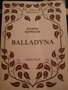 JSłowacki - Balladyna